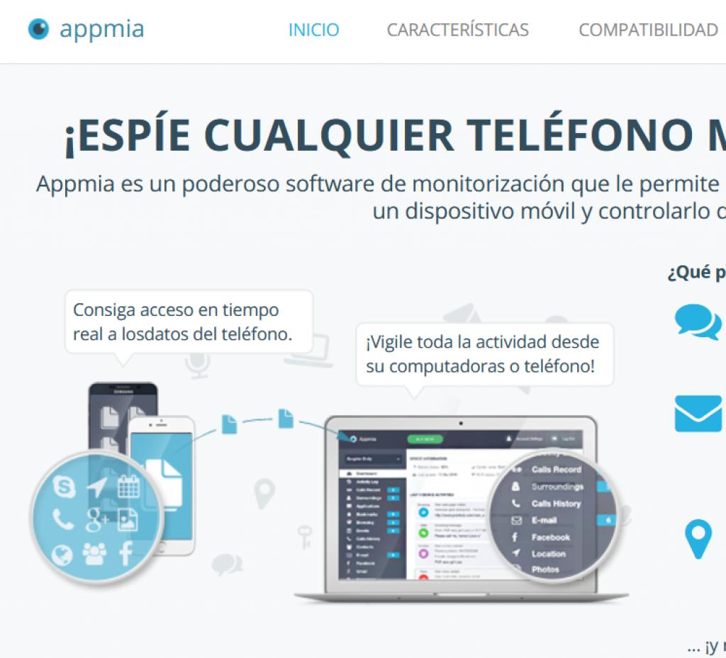 Appmia sitio web