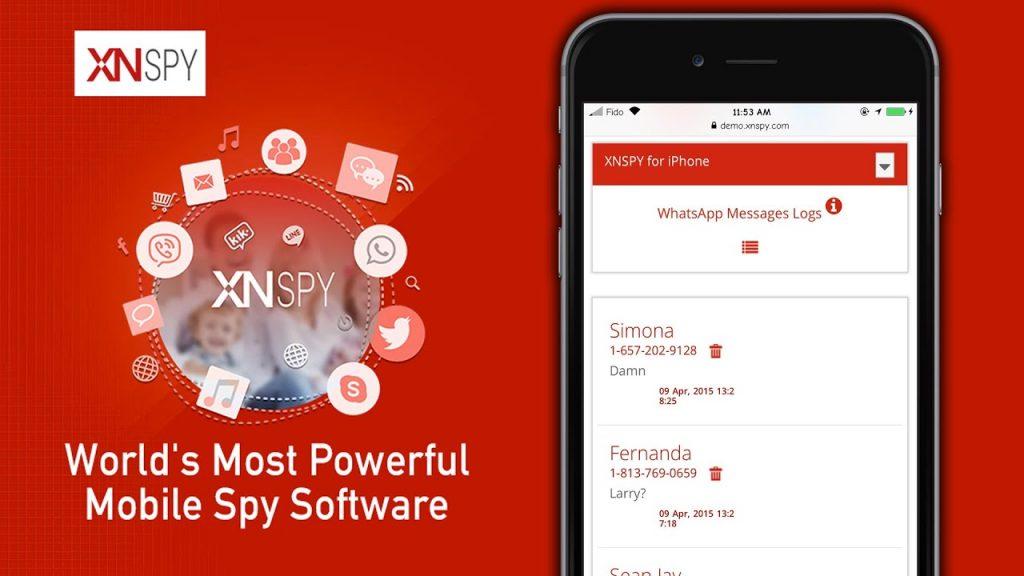 XNspy iphone