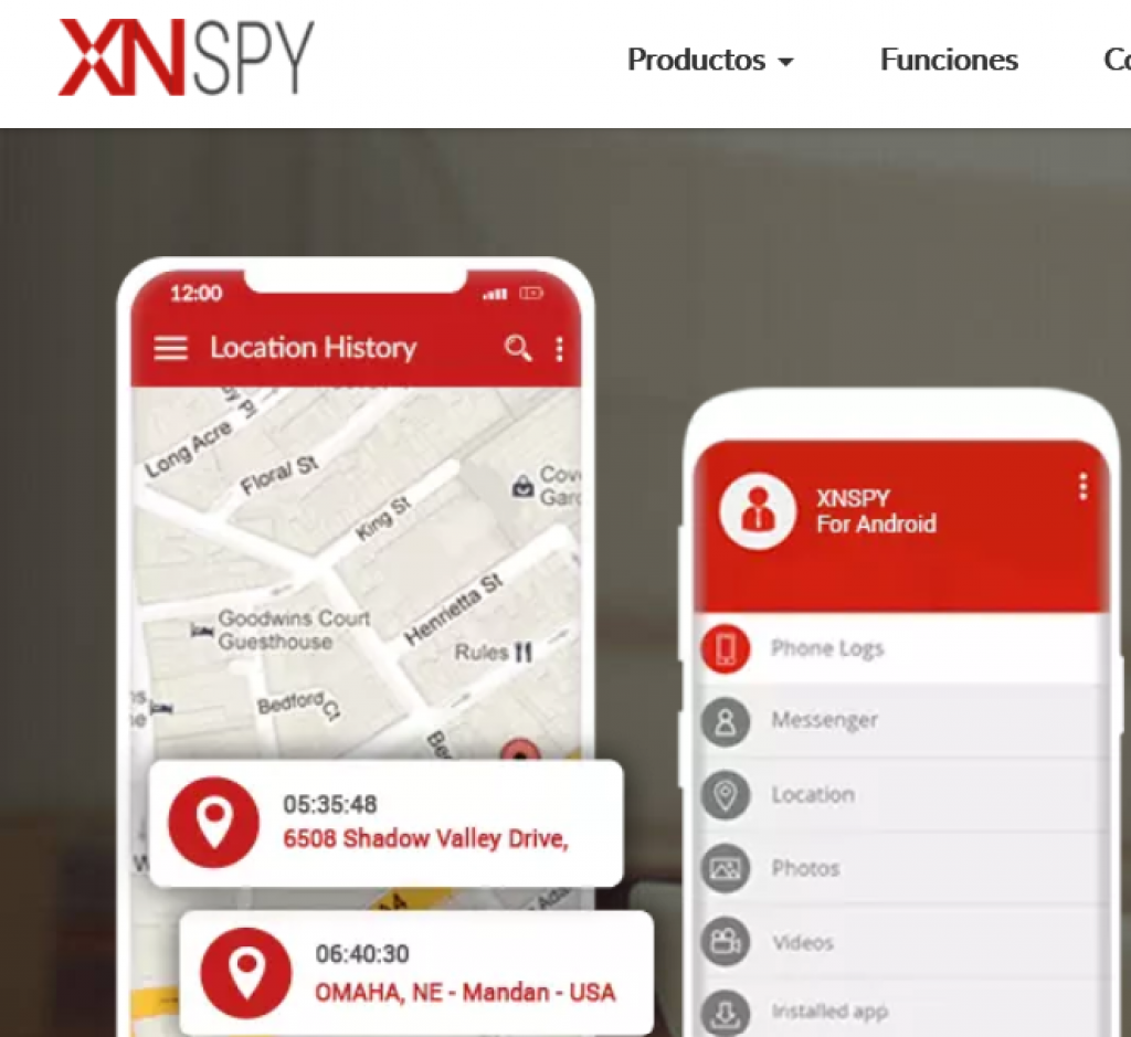 XNspy android